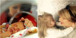 Quyết nuôi con chỉ có nửa trái tim, 3 năm sau kì tích đã xuất hiện