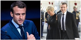 Bất ngờ trước tân Tổng thống Pháp đẹp trai và người vợ lớn hơn 25 tuổi