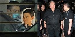 """yan.vn - tin sao, ngôi sao - Lưu Đức Hoa, Hồng Kim Bảo chống gậy đến dự tang lễ """"đàn chị"""" showbiz"""