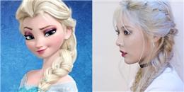 yan.vn - tin sao, ngôi sao - Loạt ảnh minh chứng Hyun Ah xinh xắn hệt những nàng công chúa Disney