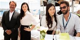 yan.vn - tin sao, ngôi sao - Lý Nhã Kỳ thanh lịch trong tiệc chiêu đãi khách quý ở LHP Cannes
