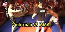 Tiếp nối Thái Cực, môn đồ Vịnh Xuân bại trận trước MMA chỉ sau 20 giây