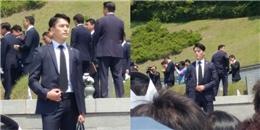 Lộ diện thêm vệ sĩ đẹp trai như tài tử của tân tổng thống Hàn Quốc