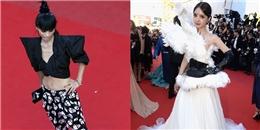 """Vô địch làm """"lố"""", mặc xấu tại thảm đỏ Cannes: Năm nào cũng về tay Cbiz"""