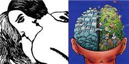 Bức tranh đôi nam nữ tiết lộ bạn suy nghĩ bằng não trái hay não phải