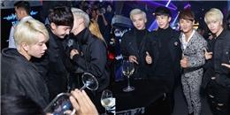 yan.vn - tin sao, ngôi sao - Erik vui vẻ chạm mặt nhóm Monstar tại tiệc của Ưng Đại Vệ