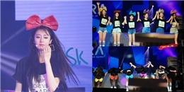 T-ara khóc nức nở trong concert cuối cùng có 6 thành viên tại Đài Loan