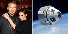 Kỉ niệm 20 năm gặp nhau, Beckham dự định đưa Victoria bay lên vũ trụ