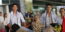 yan.vn - tin sao, ngôi sao - Á vương Thuận Nguyễn mặt mộc vẫn điển trai ngời ngời ở sân bay