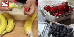 Mẹo cực đơn giản giúp bảo quản thực phẩm tươi ngon như mới