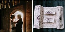 Đây chắc chắn là đám cưới trong mơ của các 'fan' Harry Potter