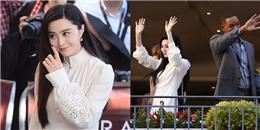 Mặc đơn giản, Phạm Băng Băng vẫn đẹp nổi bật giữa dàn giám khảo Cannes