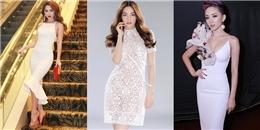 Cùng diện đầm trắng tinh khôi, mỹ nhân Việt nào 'hút hồn' nhất?