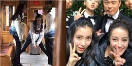 yan.vn - tin sao, ngôi sao - Thực hư tin đồn Angela Baby bất hòa với Địch Lệ Nhiệt Ba ở Running Man