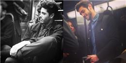 Loạt ảnh chứng minh tàu điện ngầm thực sự là 'thiên đường' trai đẹp