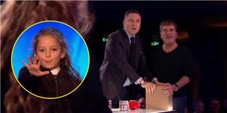 """Màn ảo thuật khiến giám khảo """"hoảng hốt"""" của cô bé 8 tuổi"""
