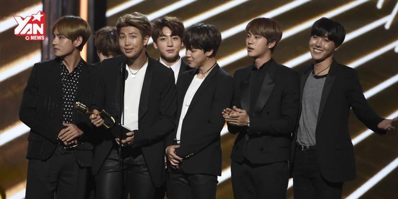 """Những giải thưởng quốc tế chứng minh độ """"khủng"""" của BTS"""