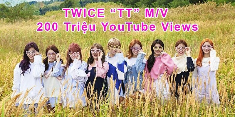 yan.vn - tin sao, ngôi sao - TWICE là nhóm nữ đầu tiên Kpop đạt 200 triệu views chỉ sau 215 ngày