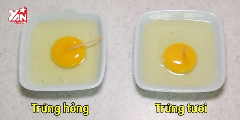 """Phân biệt trứng tươi và hỏng với 4 mẹo """"dễ như ăn kẹo"""""""