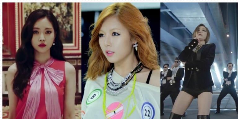 Những mỹ nữ từng xuất hiện trong MV của Psy khiến fan phát cuồng