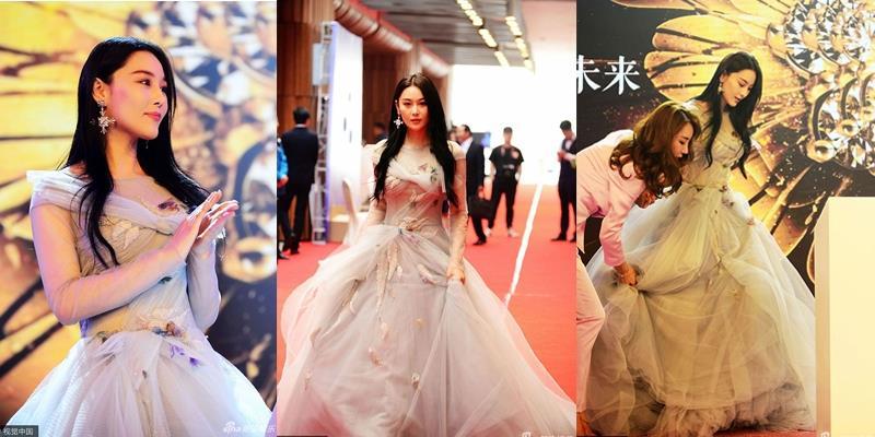 yan.vn - tin sao, ngôi sao - Váy áo rườm rà, Trương Hinh Dư bị netizen ném đá tơi tả
