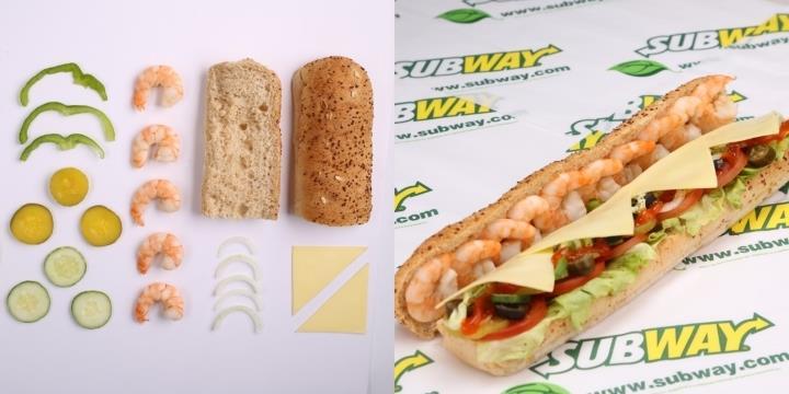 """Subway ra mắt hương vị bánh mì mới """"thỏa lòng"""" những tín đồ hải sản"""
