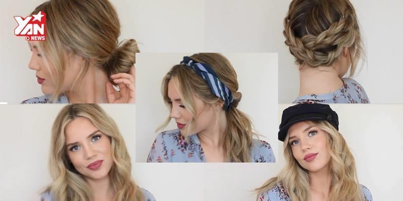 5 kiểu tóc cực xinh cho các nàng tung tăng đón hè về