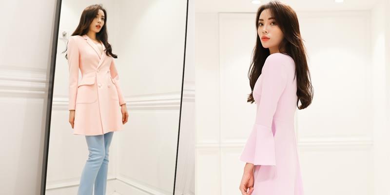Hoa hậu Kỳ Duyên ngọt ngào, thanh lịch với sắc màu pastel