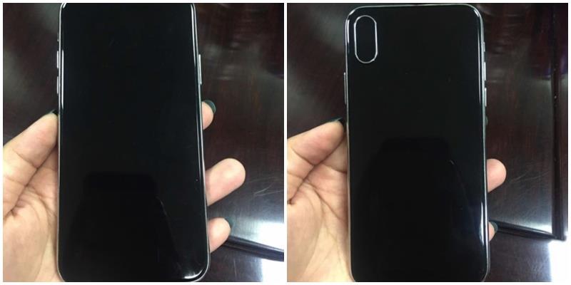 """Fan Apple xôn xao với hình ảnh """"trên tay"""" iPhone 8"""