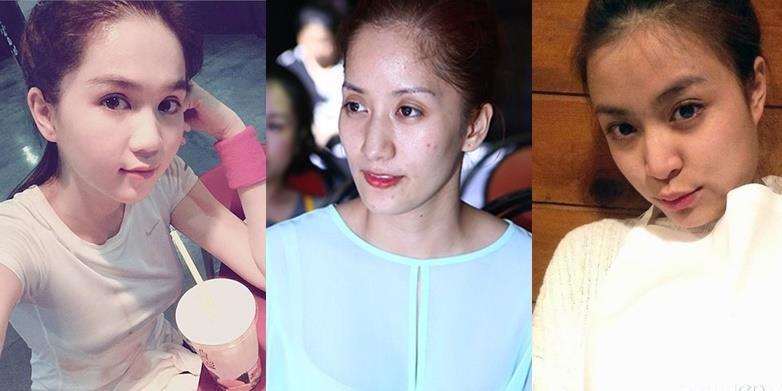 yan.vn - tin sao, ngôi sao - Mặt mộc mỹ nhân Việt: Người đẹp lung linh, kẻ thất bại thảm hại