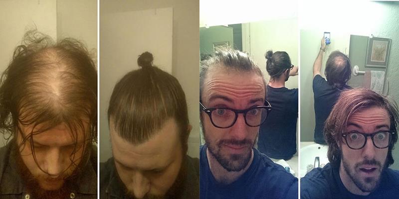 """Hé lộ sự thật gây choáng đằng sau tóc búi """"trendy"""" của các quý ông"""