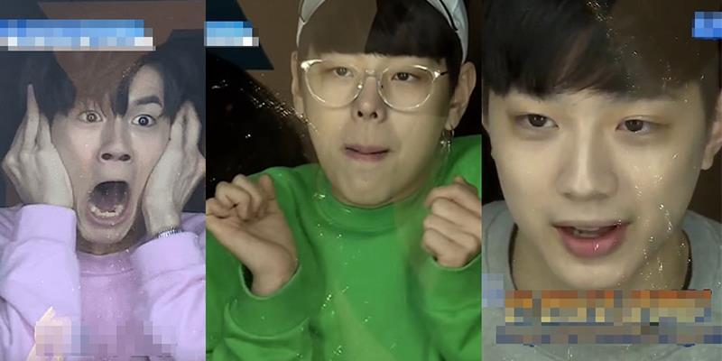 Muôn vàn biểu cảm của trai đẹp Produce 101 khi bị dọa ma