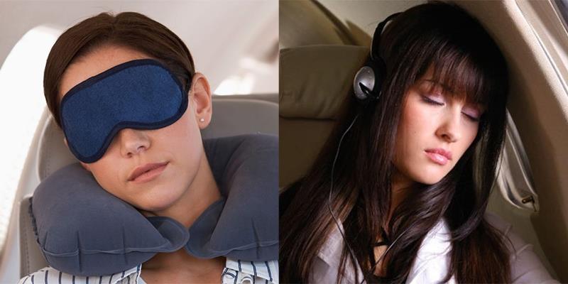 Những tư thế ngủ thoải mái nhất trên máy bay