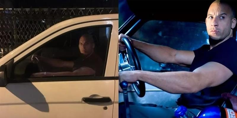 Cô gái bất ngờ chụp được ảnh Dom nhìn mình chằm chằm từ ô tô giữa đêm