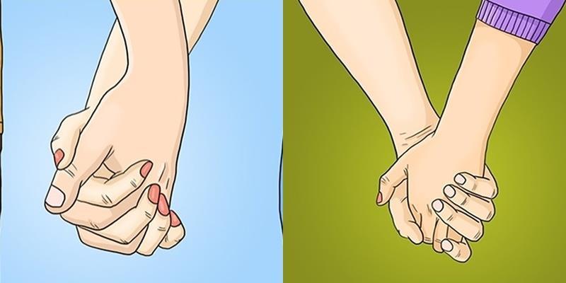 Cách nắm tay với người ấy tiết lộ rất nhiều về mối quan hệ của bạn