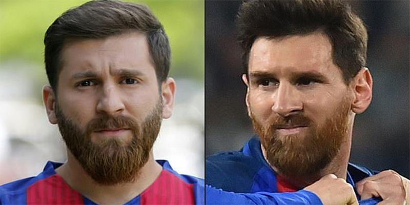 Sự thật bất ngờ đằng sau hình ảnh Messi bị cảnh sát bắt giữ