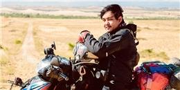Chàng trai Việt chạy xe máy vòng quanh thế giới