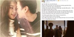 yan.vn - tin sao, ngôi sao - Hoàng Oanh nói gì giữa tin tan vỡ với Huỳnh Anh?