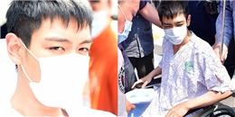yan.vn - tin sao, ngôi sao - Xót xa hình ảnh T.O.P ngồi xe lăn xuất viện