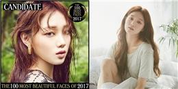 Lee Sung Kyung lọt danh sách đề cử top 100 gương mặt đẹp nhất thế giới