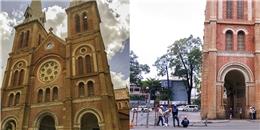 Những hình ảnh đầu tiên trong tiến trình trùng tu Nhà thờ Đức Bà