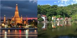 Đâu là tấm ảnh đầu tiên hiện ra nếu bạn tìm kiếm tên thủ đô các nước?