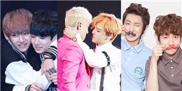 Những cặp đôi nam-nam đẹp hơn tranh, khiến fan Kpop mê như điếu đổ