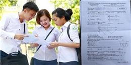 Đề thi và đáp án môn toán Kì thi THPT Quốc gia 2017