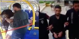 Nữ sinh đại học bị đánh trên xe buýt vì mặc quần ngắn