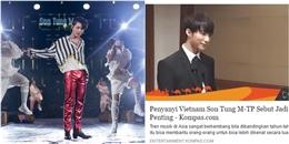 yan.vn - tin sao, ngôi sao - Báo Indonesia khen ngợi Sơn Tùng và bản hit Lạc trôi hết lời