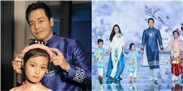MC Phan Anh khoe vợ và 3 con đáng yêu trên sàn catwalk