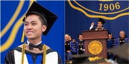 Du học sinh Việt vinh dự là người duy nhất phát biểu tốt nghiệp ĐH Mỹ