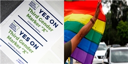 Bang đầu tiên ở Mỹ cho phép lựa chọn giới tính