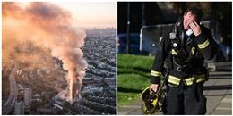 Lựa chọn khó khăn nhất đời của lính cứu hỏa trong vụ cháy chung cư Anh